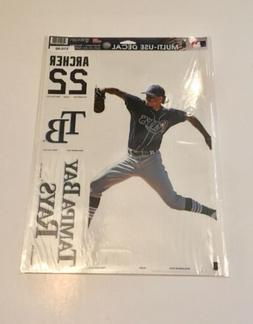 Tampa Bay Rays Chris Archer Decal Set - NEW