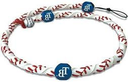Tampa Bay Rays Classic Frozen Rope Baseball Necklace  MLB Je