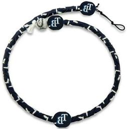 Tampa Bay Rays Color Frozen Rope Baseball Necklace  MLB Jewe