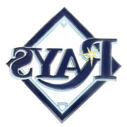 "Tampa Bay Rays Color Metal Emblem 3""x3.2"""