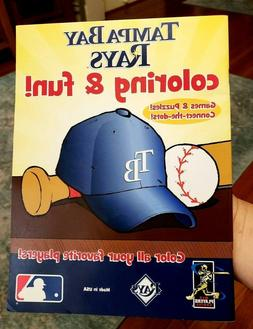 TAMPA BAY RAYS COLORING & FUN Book  New Unused MLB Games Puz