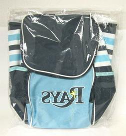 Tampa Bay Rays Cooler Bag Backpack Blue Baseball Sports Love