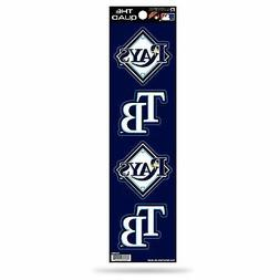Tampa Bay Rays Decal Car Sticker The Quad 4 Pack Stickers Se
