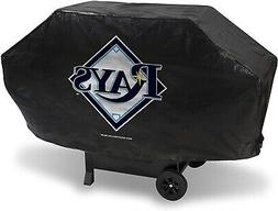 Tampa Bay Rays Deluxe Vinyl Barbecue Grill Cover Large Unive