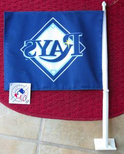 Tampa Bay Rays Double Sided Navy Blue Car Auto Flag UNDER $1