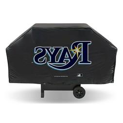 """TAMPA BAY RAYS ECONOMY GRILL COVER DURABLE VINYL 68"""" BBQ COV"""