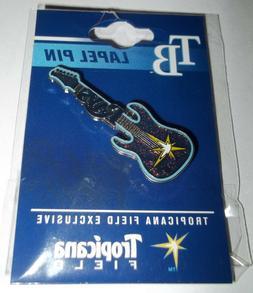 Tampa Bay Rays Electric Guitar Lapel/Hat Pin Tropicana Field