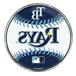 Tampa Bay Rays Emblem Sticker Raised 3D Metal Auto Baseball