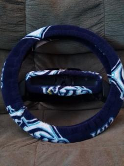 TAMPA BAY RAYS FLEECE STEERING WHEEL COVER SET clearance sal