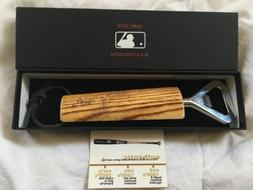 """Tampa Bay Rays """"Game Used"""" Baseball Bat Bottle Opener by"""