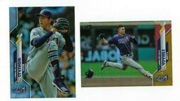 TAMPA BAY RAYS Gold Rainbow Foil Parallel 2020 Topps Series