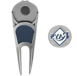 Tampa Bay Rays Golf Ball Mark Divot Repair Tool With Magneti