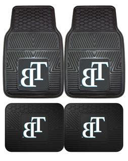Tampa Bay Rays Heavy Duty Vinyl Car, Truck, SUV Auto Floor M