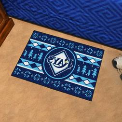 """Tampa Bay Rays Holiday Sweater Design 19"""" X 30"""" Starter Area"""