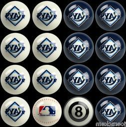 Tampa Bay Rays Home and Away MLB Pool Ball Set - FREE US SHI