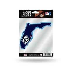 Tampa Bay Rays Home State Sticker Flat Die Cut Decal Emblem