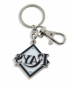 Tampa Bay Rays Keychain Metal Heavyweight Key Ring MLB Aminc