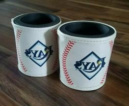 Tampa Bay Rays Koozie Insulated Can Cooler Baseball Stitchin