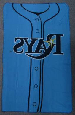 Tampa Bay Rays Logo Jersey Baseball MLB NIP 40 x 62 Fleece B