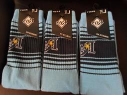 PKWY Tampa Bay Rays Logo Uniform Athletic/Crew Fit Socks Siz