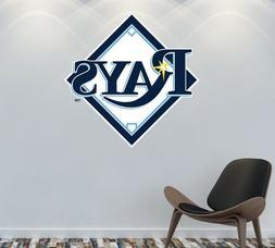 Tampa Bay Rays Logo Wall Decal MLB Sports Sticker Decor Colo