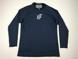Tampa Bay Rays Nike Long Sleeve Shirt Men's Navy Poly NEW XL