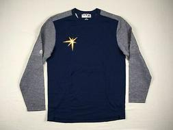 Tampa Bay Rays Majestic Long Sleeve Shirt Men's NEW Multiple