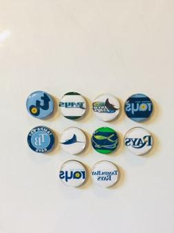 Tampa Bay Rays Magnets - Set Of 10 - FREE SHIPPING