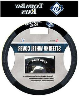 Tampa Bay Rays Mesh Steering Wheel Cover  MLB Car Auto Truck