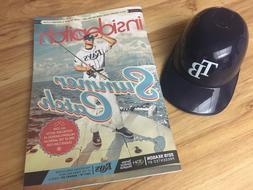 Tampa Bay rays mini helmet and summer catch magazine