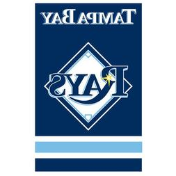 "Tampa Bay Rays MLB Applique Banner Flag """