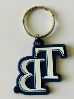 TAMPA BAY RAYS MLB BASEBALL KEYCHAIN KEYRING TEAM DECAL LOGO