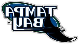 Tampa Bay Rays MLB Baseball Vinyl Car Bumper Window Sticker