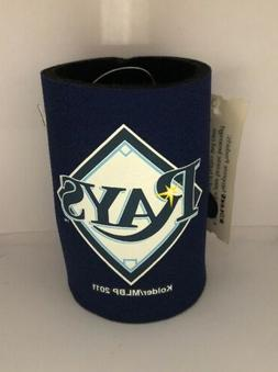 tampa bay rays mlb can bottle coozie