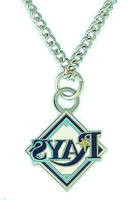 Tampa Bay Rays MLB Logo Necklace