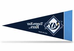 "Tampa Bay Rays MLB Mini Pennant 9""x4"", New, Felt, Made in US"