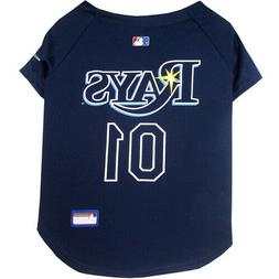 Tampa Bay Rays MLB Pets First Officially Licensed Dog Jersey
