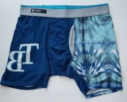 Stance Tampa Bay Rays MLB Tie Dye Blue Boxers Size Small 28-