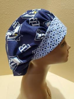 Tampa Bay Rays MLB Women's Bouffant Surgical Scrub Hat/Cap H
