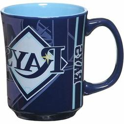 Tampa Bay Rays Mug Reflective Coffee Cup 11oz MLB Navy