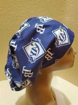 Tampa Bay Rays NLB Women's Euro/Chef Surgical Scrub Hat/Cap