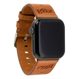 Tampa Bay Rays Premium Leather Apple Compatible Watch Band