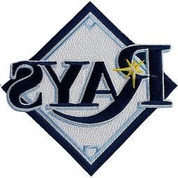Tampa Bay Rays Primary Team Logo Diamond Sleeve MLB Logo Pat