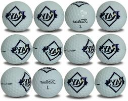 Tampa Bay Rays Titleist ProV1 Refinished MLB Golf Balls 12 p
