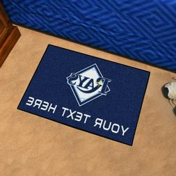 Tampa Bay Rays She Cave Woman Cave Rug MLB FANMATS