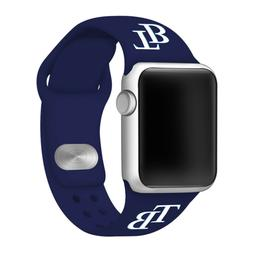 Tampa Bay Rays Silicone Sport Band Compatible With The Apple