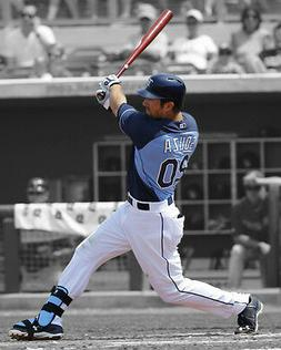 Tampa Bay Rays STEVEN SOUZA Glossy 8x10 Photo Baseball Print