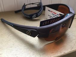 Tampa Bay Rays-Sunglasses Maxx HD Dynasty 2.0 Shades Amber L