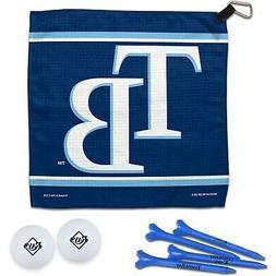 Tampa Bay Rays WinCraft Towel, Golf Balls & Tees Gift Set
