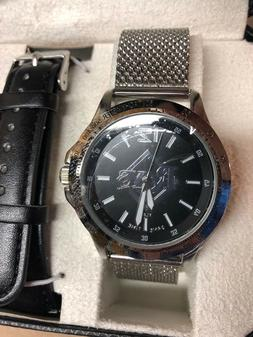 Tampa Bay Rays Watch Wristwatch NEW Game Time Cage Men's 2 S